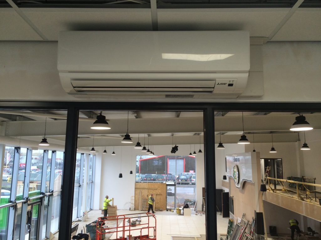 Office wall mounted Air Conditioning