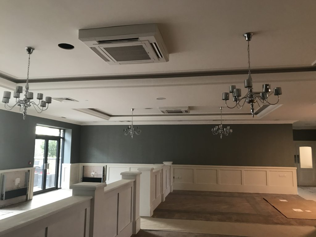 Home Air Conditioning-Kitchen