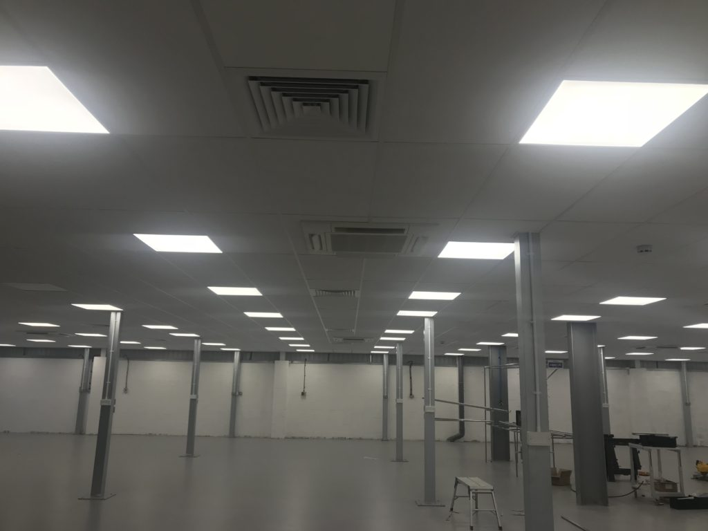Air Conditioning Office U4- Ceiling cassettes