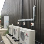 Commercial Air Conditioning- outdoor condenser units.