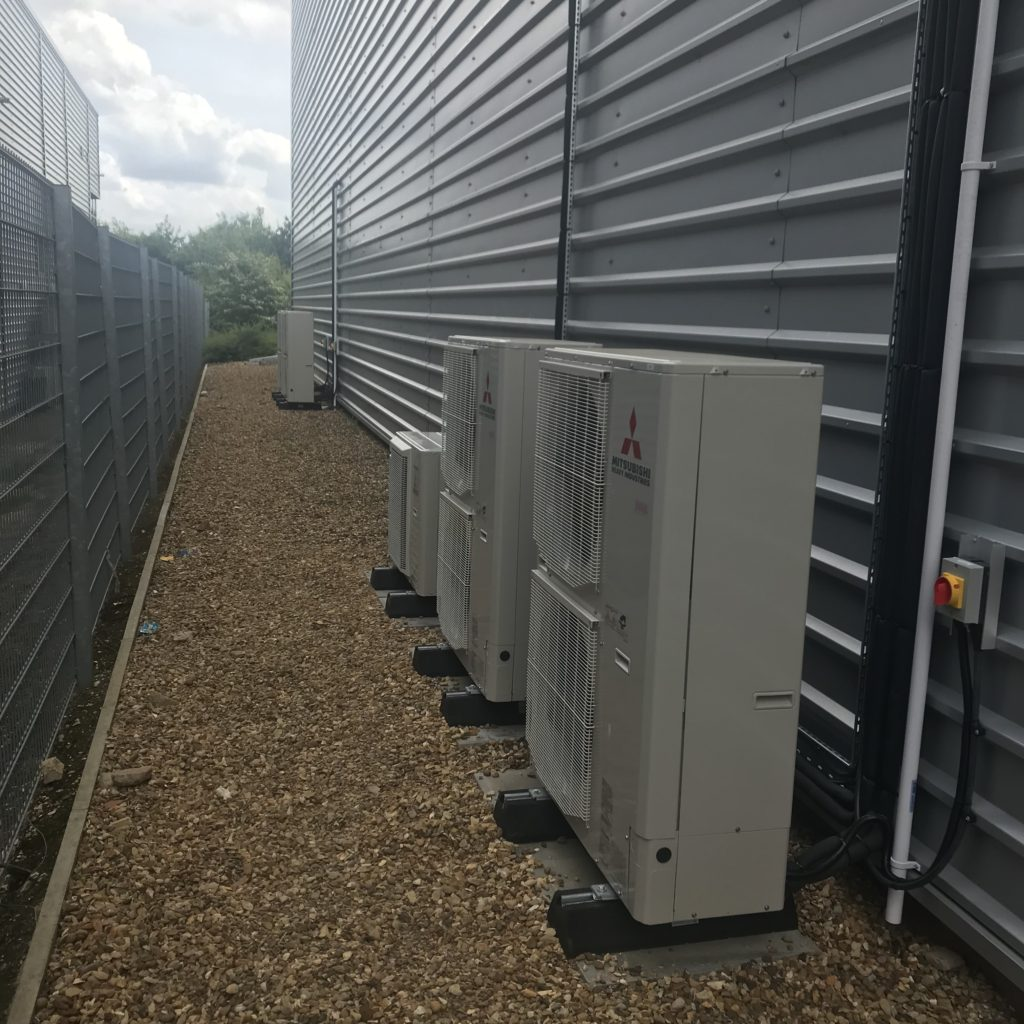 Outdoor Condensers u4 offices