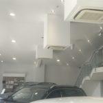 Volkswagen showroom Air Conditioning
