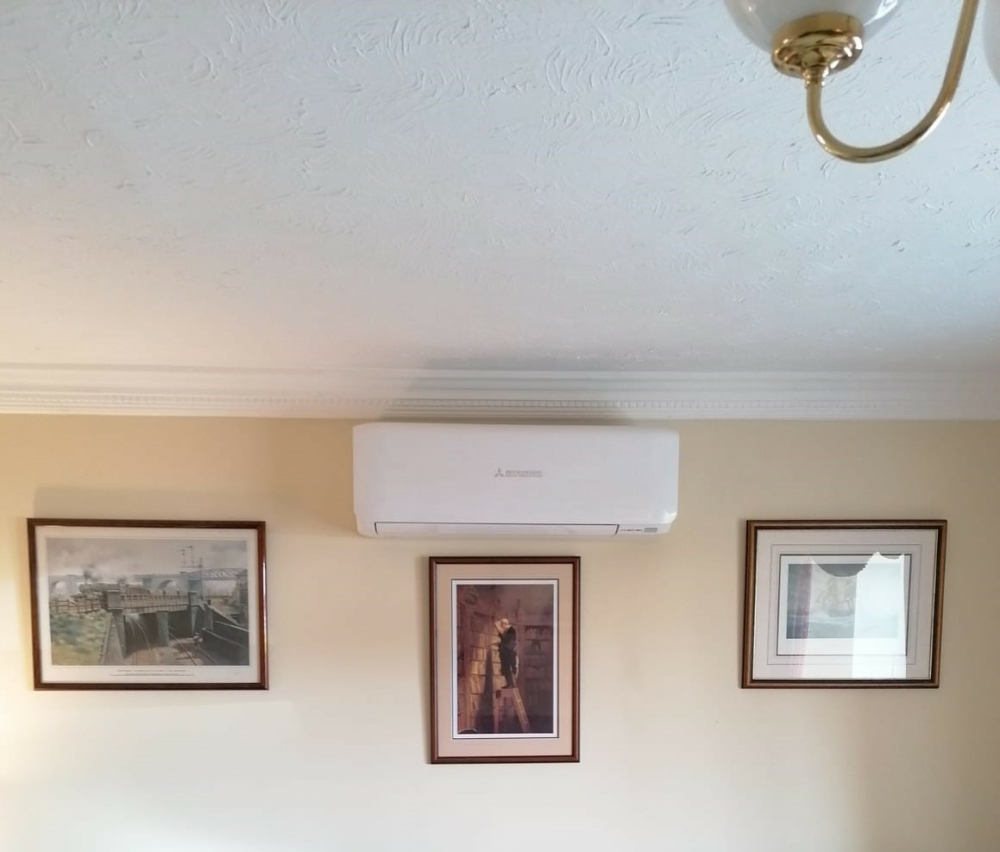 Mitsubishi Air Conditioning system- wall mounted