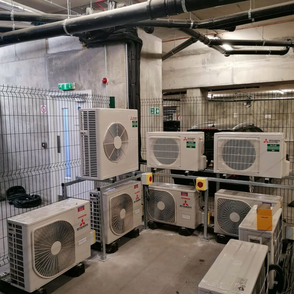 Commercial Air Conditioning- Outdoor condensers