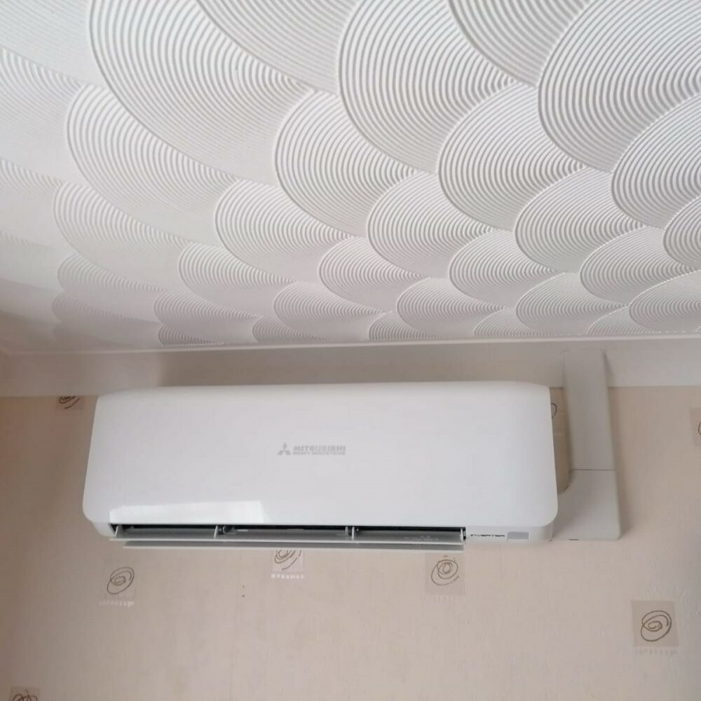 Bedroom Wall Mounted Mitsubishi Air Conditioning