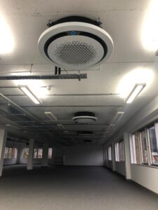Circular modern ceiling cassettes Jan 2020