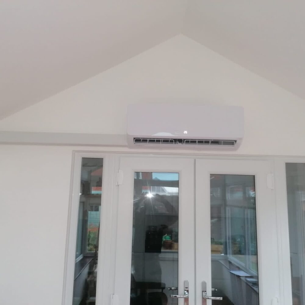 Conservatory heating and cooling Air Conditioning