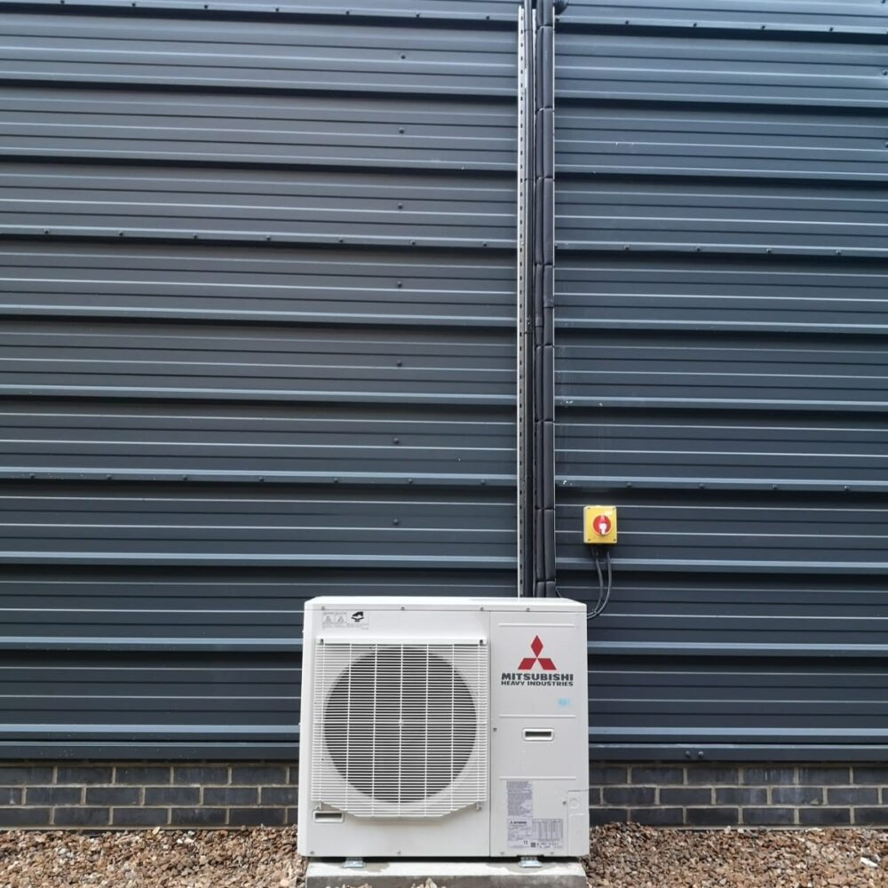 Outdoor Condenser Commercial Air Conditioning