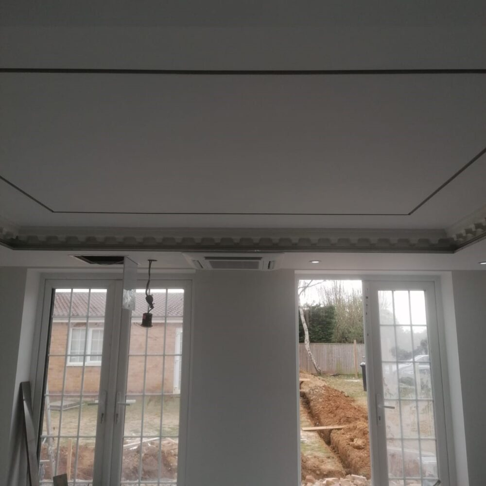 Kitchen Diner Air Conditioning- Mitsubishi ceiling cassette system