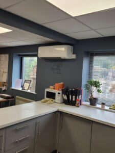 Office Air Conditioning Mitsubishi Wall mounted system